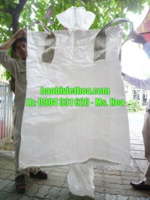 Bao 1000 kg, bao 1 tấn, bao đóng cát, lúa, gạo, khoán sản
