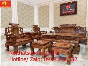 Những bộ bàn ghế gỗ Cẩm Lai kiểu mới