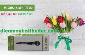 Micro có dây Kiwi T100 chính hãng 100% giá bán  tốt tại Điện Máy Hải