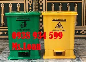 Thùng rác y tế, thùng rác đạp chân 25 lít ,thùng rác y tế đạp chân 25 lít giá rẻ
