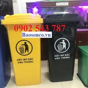 Thùng rác chất lượng tốt 240 lít công cộng