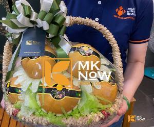 Giỏ lê nâu Hàn Quốc - FSNK205