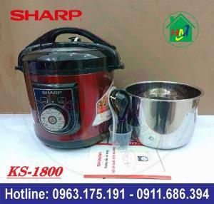 Nồi Áp Suất Đa Năng 6L Sharp KS-1800