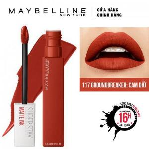 Son Kem Lì Maybelline Super Stay Matte Ink 5ml - Màu 117 Groundbreaker