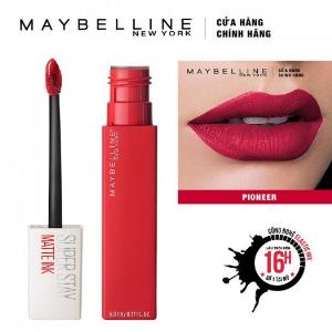 Son Kem Lì Maybelline Super Stay Matte Ink 5ml - Màu 20 Pioneer