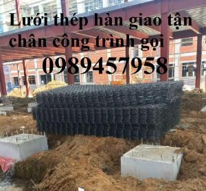 Sản xuất lưới thép đổ bê tông phi 5 mắt 200x200, phi 6 ô 150x150, 200x200 giao tận nơi