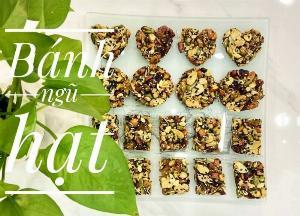 Hủ 150gr Bánh ngũ hạt healthy giữ dáng đẹp da - Food by Mama