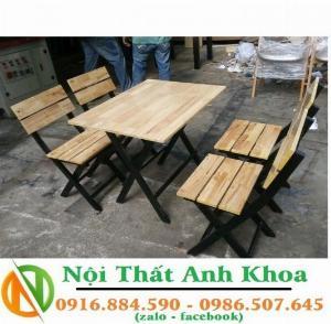Bàn ghế cafe, bàn ghế quán nhậu