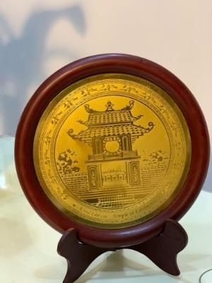 Đĩa quà tặng Khuê Văn Các DK 23cm