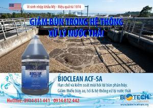 Chế phẩm vi sinh xử lý nước thải/ xử lý bùn Aquaclean acf-sa