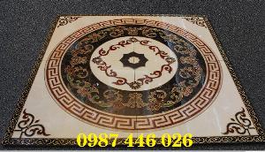 Gạch thảm sàn trang trí lát sảnh HP3554