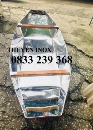 Chuyên thuyền tôn 3m, 2,5m, Thuyền inox có sẵn tại Hà Nội