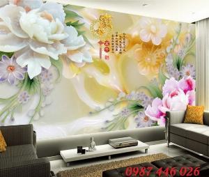 Tranh gạch men, tranh 3d, gach ốp tường, tranh phòng khách HP045