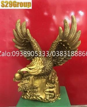 Đại bàng bằng đồng cao 40cm