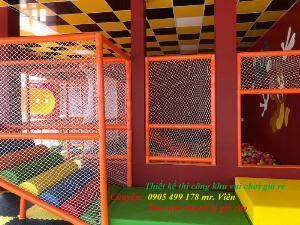 Thi Công. lắp đặt khu vui chơi liên hoàn cho trẻ em hiện đại nhất - giá rẻ nhất