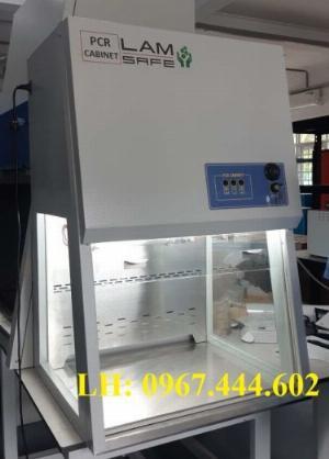 Tủ thao tác PCR có gió hoàn lưu qua lọc Hepa