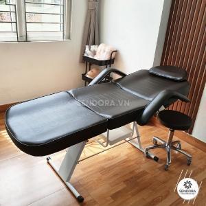 Bộ giường ghế phun xăm cao cấp 3558&9260 – Màu nâu