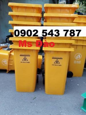 Thùng đựng rác y tế có nguy cơ chứa CoVid 19