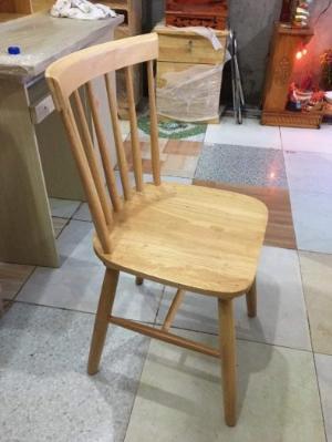 Ghế gỗ cafe song tiện