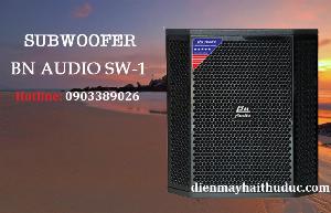Loa Sub bass 30cm BN Audio SW-1 công suất đến 350W