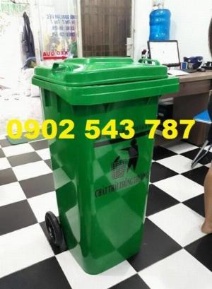 Thùng đựng rác công cộng chất lượng tốt 240 lít