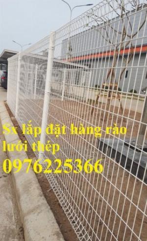 Hàng rào lưới thép sơn tĩnh điện D3, D4, D5, D6