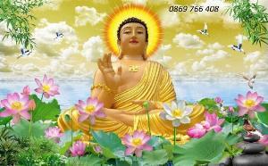 Tranh 3D Phật Giáo-gạch tranh 3D
