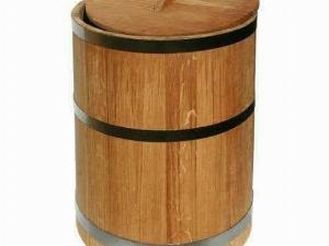 Thùng đựng gạo gỗ Sồi 20 kg.