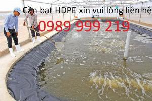 Nylon lót ao,hồ,hố bioga hdpe 500m2 k5x100m loại 0.5mm