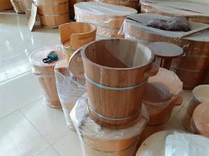 Thùng đựng gạo gỗ Sồi 15 kg..
