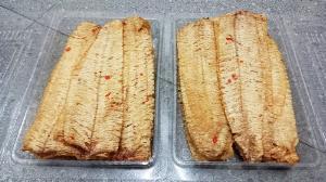 Gói 500gr Mực tẩm tỏi ớt cán dẹp nguyên con thơm ngon - Food by Mama
