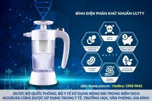 Bình điện phân phun sương diệt khuẩn Ultty SKJ-CRS01- Phòng chống