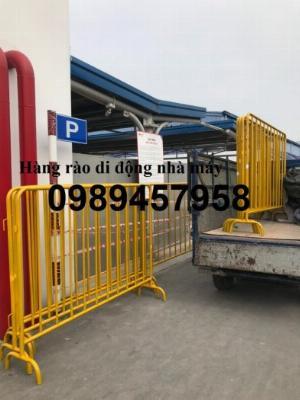 Sản xuất hàng rào Barie có chốt, Hàng rào phân luồng giao thông
