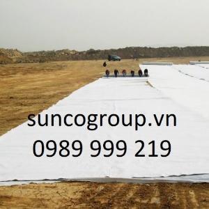 Sản xuất và phân phối Vải địa kỹ thuật, vải địa giá rẻ tốt 2021 sunco vn