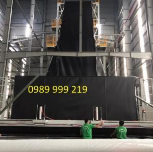Nylon đen 2 mặt hdpe cuộn 500m2 khổ 5x100m loại 0.3mm