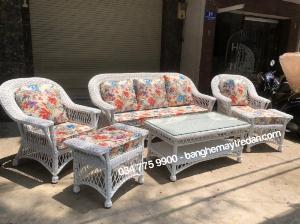 Chuyên cung cấp sofa, bàn ghế mây tre đan để phòng khách đẹp