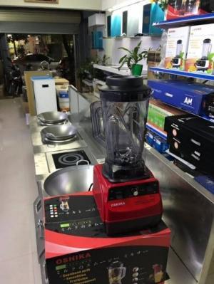 Máy xay nào phù hợp để mở cửa hàng,máy xay đa năng Oshika Nhật Bản có linh kiện thay thế trọn đời