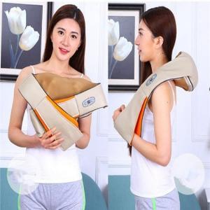 Máy massage hồng ngoại điều trị thoái hóa vai cổ gáy,đai mát xa vai gáy Hàn Quốc Ayosun
