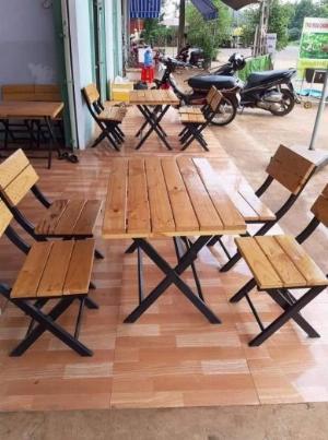 Bàn Ghế xếp cafe giá tại xưởng