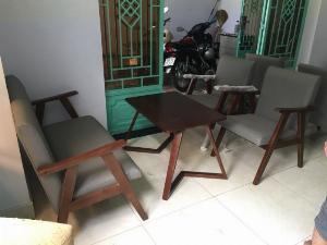 Bộ bàn ghế sofa gô cafe giá tại xưởng