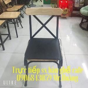 Ghế cafe,quán ăn có nệm- nội thất Nguyễn hoàng