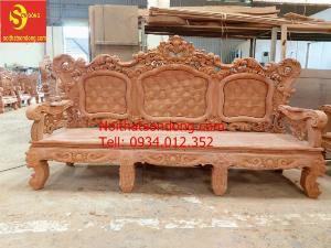 Bộ ghế Hoàng Gia gỗ Hương Đá Giá rẻ