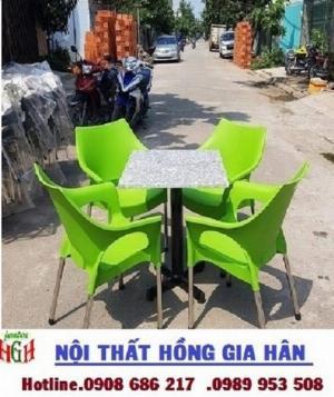 Ghế nhựa cafe giá rẻ nhất HGH .0