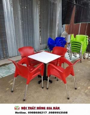 Bàn ghế cafe sân vườn HGH.1