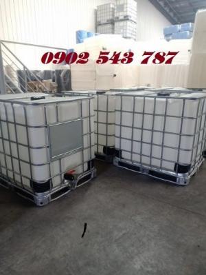 Tank nhựa IBC 1000 lít hàng combo chất lượng tốt