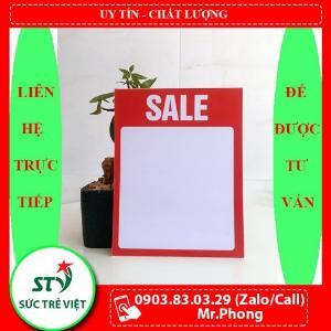 Bảng sale, bảng ghi giá, bảng giảm giá, bảng hạ giá, bảng khuyến mãi