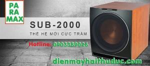 Loa Subwoofer Paramax 2000 giảm giá đến 10% tại Điện Máy Hải