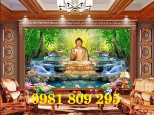 Tranh Phật - gạch tranh 3d ốp tường
