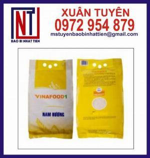 Sản xuất in túi đựng gạo 5kg PAPE