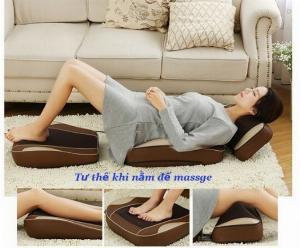 Ghế massage giảm đau toàn thân Hàn Quốc Ayosun thế hệ mới nhất hiện nay,ghế massage theo huyệt đạo